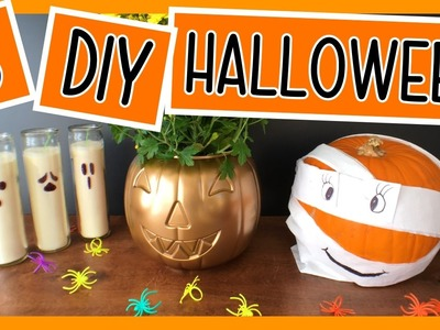 3 DIY Decoraciones para Halloween. Dia de los Muertos