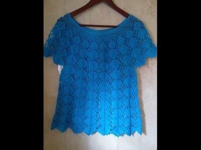Blusa turquesa talla XL parte 3  ( con opción a talla Ch, M y G.)