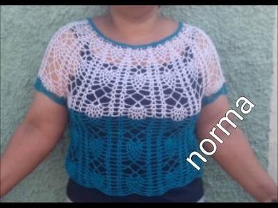 Bluson,capa o blusa de piñas  ( blusa)