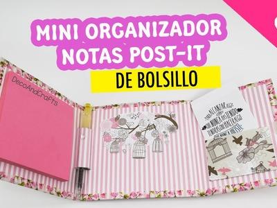 Mini Organizador de Notas Post-it de Bolsillo - DecoAndCrafts