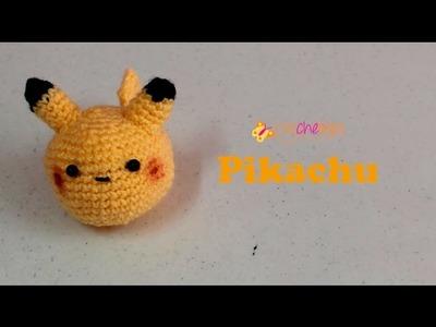 Pikachu - crochelines- super fácil de tejer.