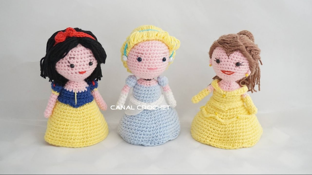 Amigurumi Disney Tutorial : Princesas amigurumi tutorial, My Crafts and DIY Projects