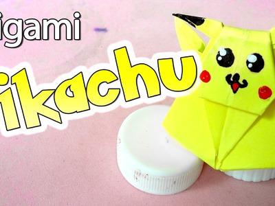 Cómo hacer un Pikachu de Origami | Arte Track
