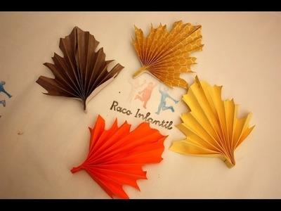 Cómo hacer una hoja de otoño fácil y original