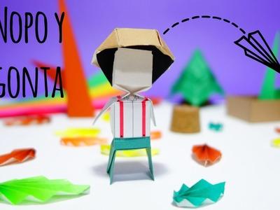 Origami Nopo ( Nopo y Gonta)