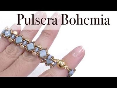 Pulsera Bohemia con Silky Beads
