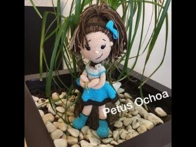Tejer muñeca Ale amigurumi con Petus Ochoa  SEGUNDA PARTE