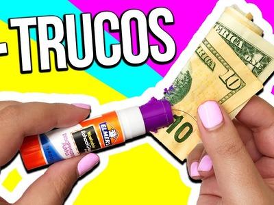 TRUCOS RAROS DE UTILES ESCOLARES!