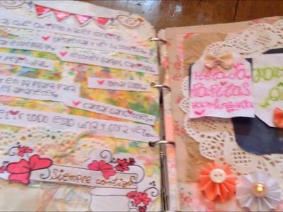 Actualización cuaderno de amor.