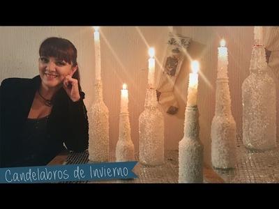 Centro de Mesa conBotellas y velas :: Chuladas Creativas