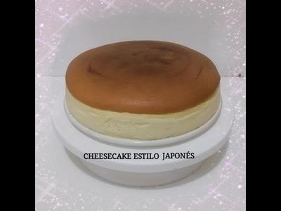 CHEESECAKE ESTILO JAPONES  (SOFT COTTON CAKE) - Silvana Cocina