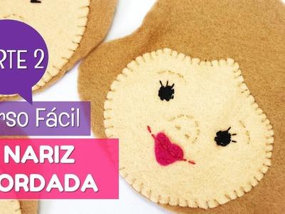 Cómo bordar la nariz en nuestros muñecos de fieltro | facilisimo.com