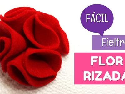 Cómo hacer flores de fieltro fáciles con volumen | facilisimo.com