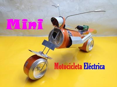 Cómo hacer que el juguete eléctrico de la motocicleta con las latas de pintura