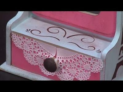Como hacer un  joyero vintage - Hogar Tv  por Juan Gonzalo Angel