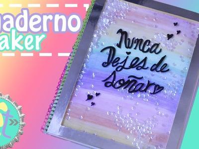 Decora Cuadernos, estilo Shaker! Regreso a clases. Floritere