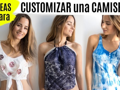 DIY 5 ideas para customizar una camiseta