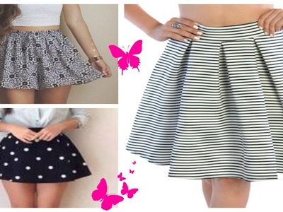 DIY: Transforma y dale estilo a tu vieja falda | How to Renovate your Old skirt!