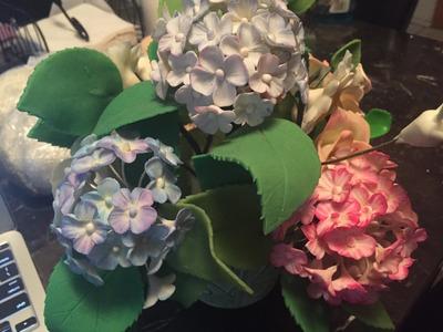Flores de porcelana fria, Herramientas Basicas Y Como Pintar La Mada