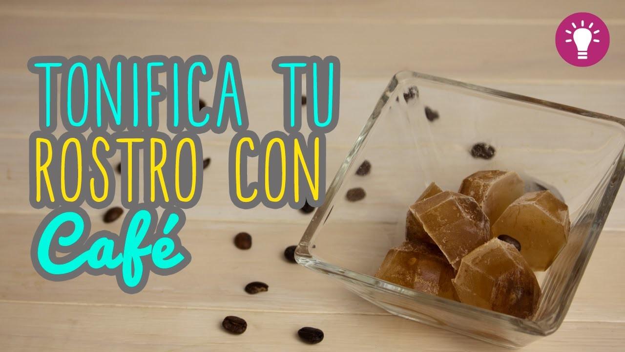 Hielo Tonificante para el Rostro - Con café - Combate las Arrugas - Mini Tip#69