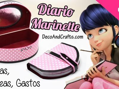 Libreta de Tareas Diario de Marinette Miraculous Ladybug - DecoAndCrafts