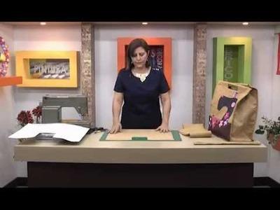 Sonia Franco. Como hacer un Bolso para Costura. 2.5