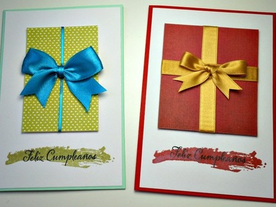 Tarjeta Express | Cumpleaños o Navidad | Cardmaking | Mundo@Party