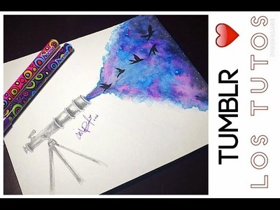 TUMBLR DIBUJO - SUPER FACIL - tumblr draw -  PRODUCTOS NORMA