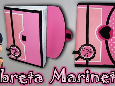♥ Tutorial: Libreta.Cuaderno o Agenda de Marinette || Miraculous Ladybug  ♥