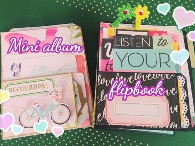 Tutorial Mini álbum scrap o flipbook  by mary