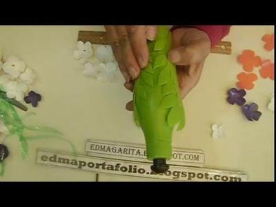 Tutorial: Reciclando Bello Centro de Mesa 01 (Botella plástico)