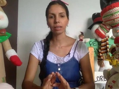 COMO HACER CARITA DE NIEVE Y SANTA TRANSMISION EN VIVO