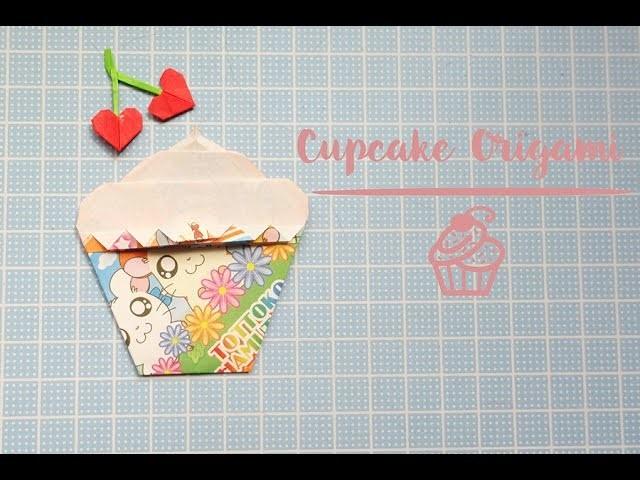 Cómo hacer un Cupcake de Origami