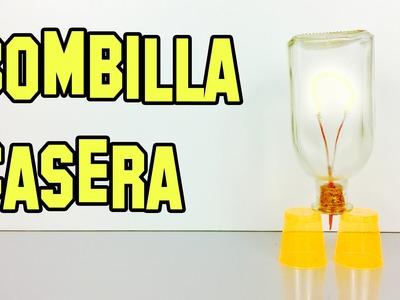 Como Hacer Una Bombilla Con Una Botella - Experimentos Caseros