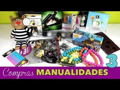 Compras de Materiales de Manualidades 3 Haul