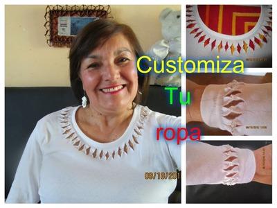 Customiza tu ropa      Luz Mireya Martinez