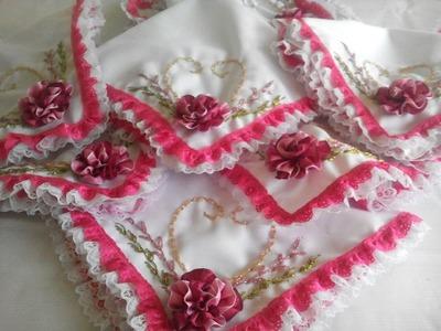 DISEÑO SERVILLETA PARA 15 AÑOS (Napkin Design for 15 a years old girl)