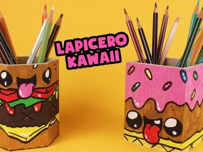 LAPICEROS DECORADOS KAWAII - Organizador de escritorio decorado con marcadores