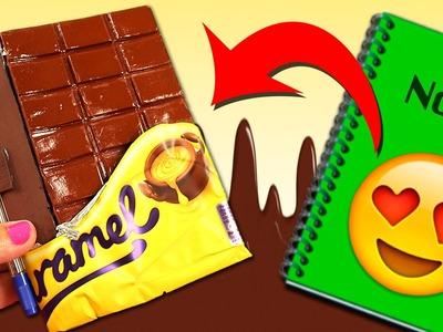 LIBRETA de CHOCOLATE * IDEAS Regreso a Clases