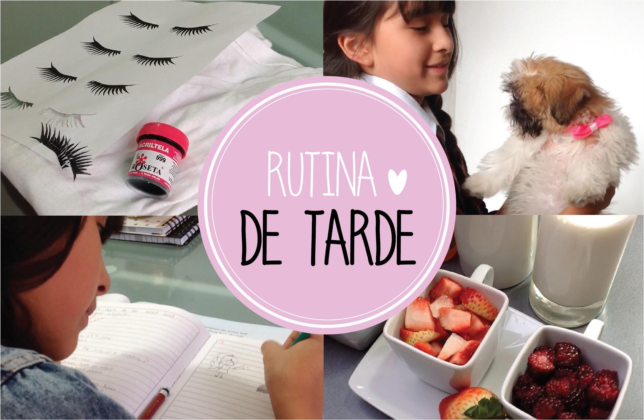 MI RUTINA DE TARDE (Después de escuela) + DIY'S