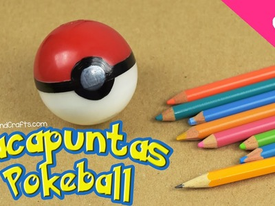 Sacapuntas de Pokebola Decora utiles escolares con Pokemon Go - DecoAndCrafts