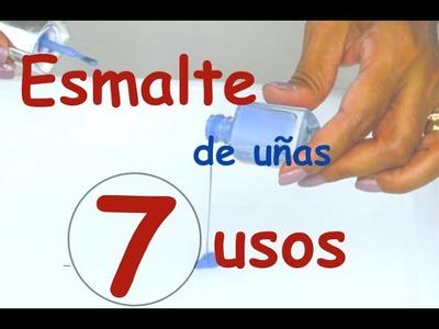 7 Usos del esmalte de uñas