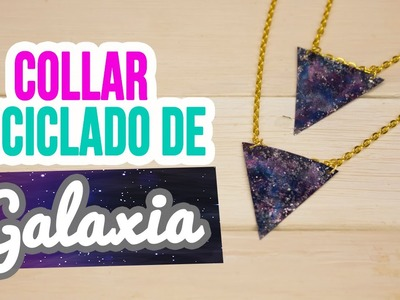 Collares Reciclados de Botellas | ¡Collares de Galaxia Super Fáciles! | Mini Tip #102 Catwalk