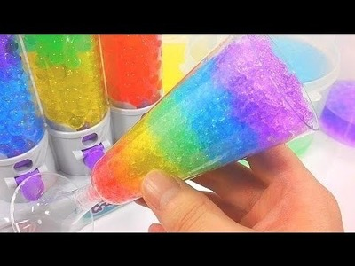Colores de la bola Orbeez Agua Copa de cóctel - DIY Cómo hacer - Aprender los colores