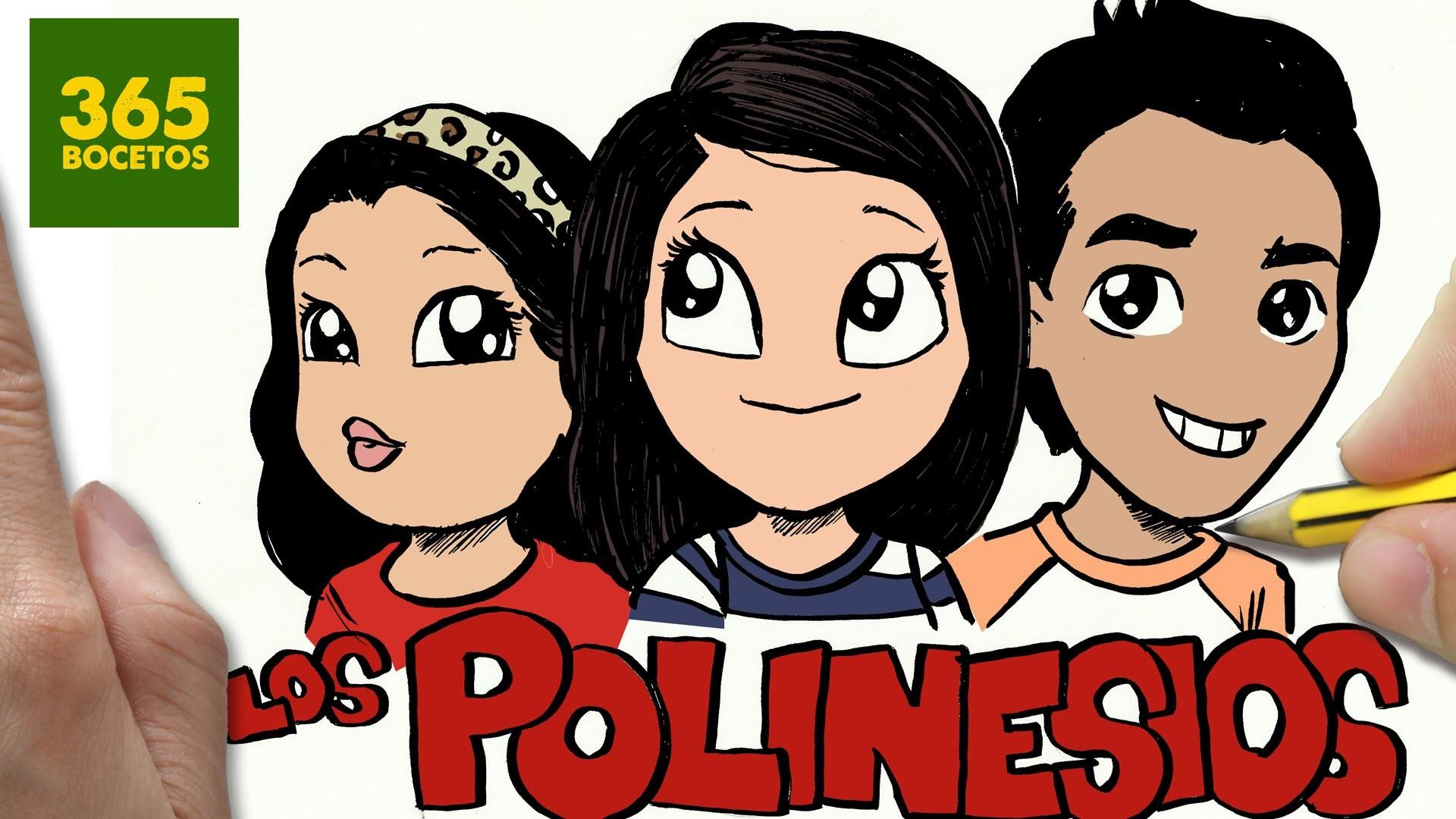 Como Dibujar Los Polinesios Kawaii Paso A Paso Dibujos Kawaii