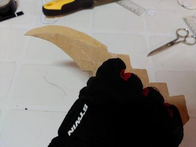 Cómo hacer el cuchillo Asuma