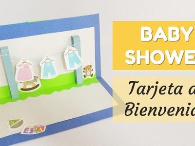Cómo hacer una tarjeta para Baby Shower | facilisimo.com