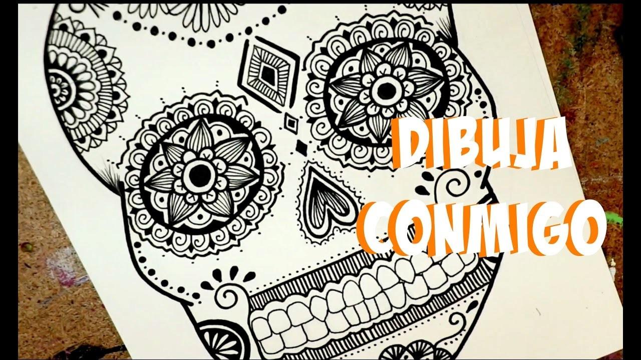 Dibujo para Día de Muertos! Dani Hoyos Art