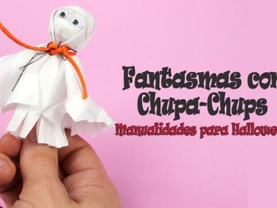 Fantasma para Halloween con Chupa Chups | Golosinas personalizadas para Halloween