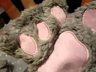 Guantes de gato kawaii (super cute)